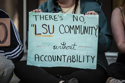 PHOTOS: Tigers Against Sexual Assault holds sit-in protest at Football Operations Center