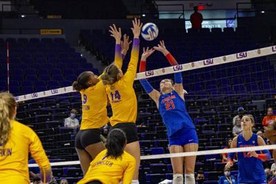PHOTOS: LSU volleyball defeats Florida