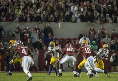 11/07/2015 PHOTO: LSU vs. Alabama