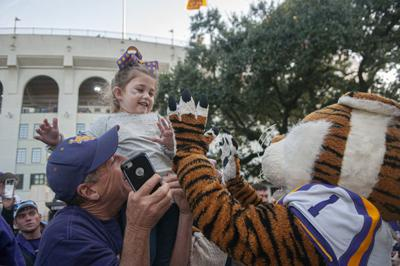 PHOTOS: Walk Down Victory Hill LSU vs. Arkansas