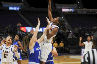LSU Women's Basketball Defeats The New Orleans Privateers