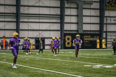 PHOTOS: LSU practices for CFP National Championship