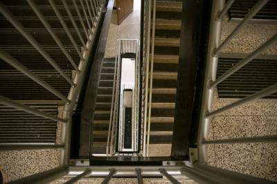 PHOTOS: Taking the stairs