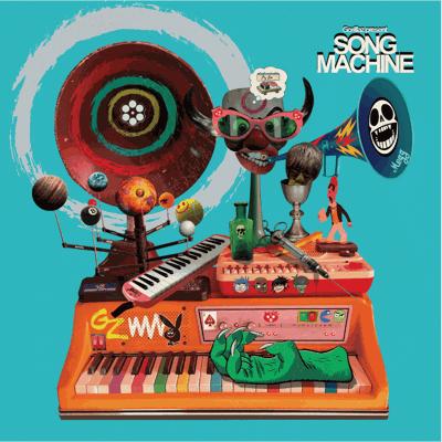 Gorillaz Album Cover