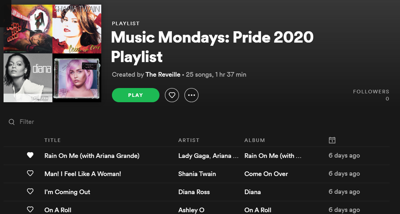 Media Monday Pride 2020