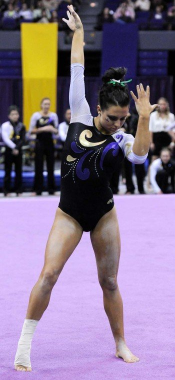 Mic'd Up: LSU Athlete of the Week - All-round gymnast ...