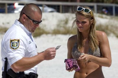 Spring break crime slightly down compared to last year   News