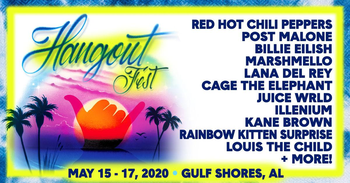 The Hangout Music Festival 2020.Hangout Fest 2020 Lineup Released Tickets On Sale Dec 9