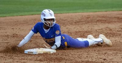 LSU softball wins 11-0 against Troy