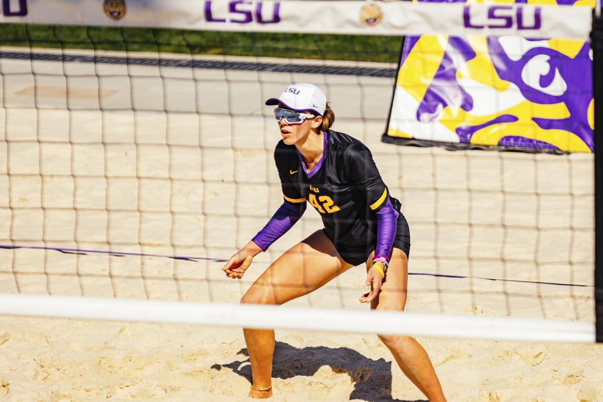 LSU Beach Volleyball Scrimmage