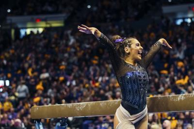 PHOTOS: LSU gymnastics falls to Alabama