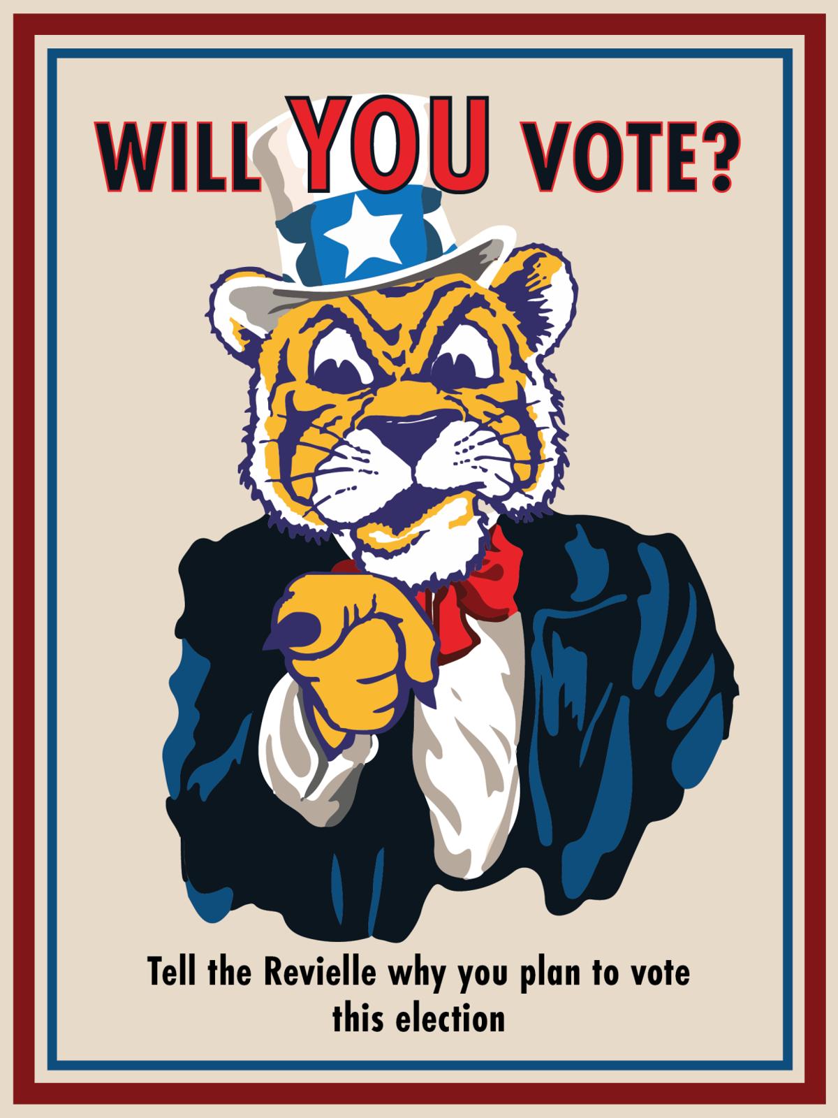 Will YOU vote graphic