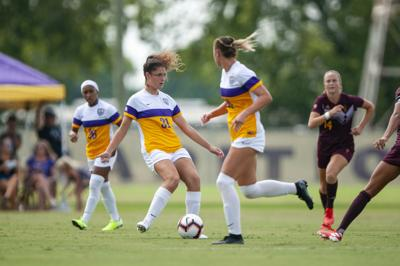 LSU Soccer vs ASU