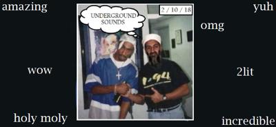 Underground Sounds 2/10/18