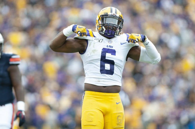 Former LSU linebacker Jacob Phillips drafted by Cleveland Browns ...