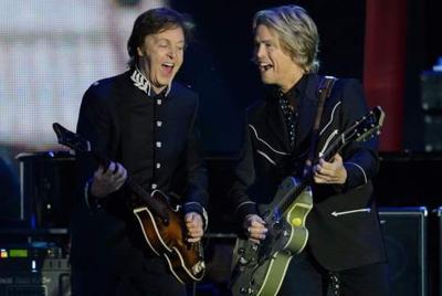 Paul McCartney and Brian Ray