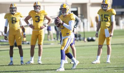 LSU Prepares for Saturday against Auburn