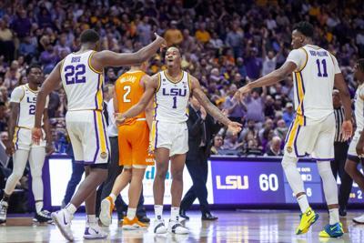 PHOTOS: LSU Basketball vs Tennessee