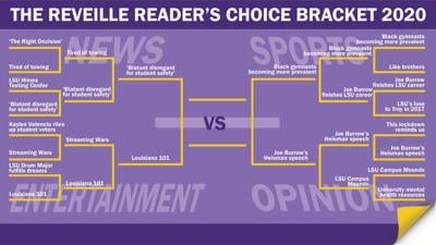 Reader's Choice Bracket Round Three