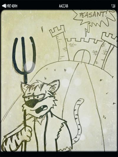 Medieval peasants cartoon