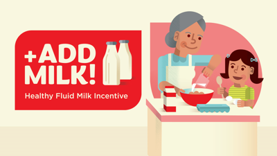 Add Milk! Incentive Program
