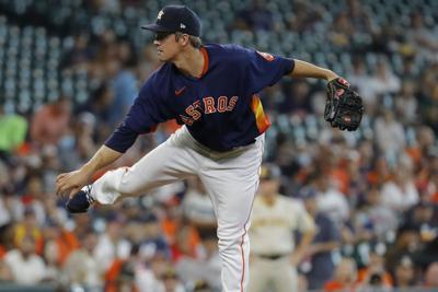 Houston Astros Zach Greinke