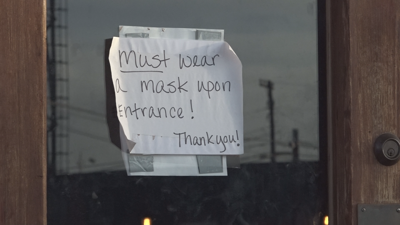 Bar shutdown, Mask mandate, COVID