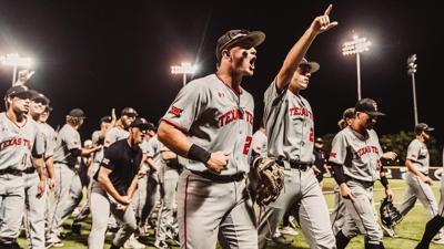 Tech baseball regional win over UCLA