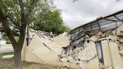 Crosbyton Church Collapse
