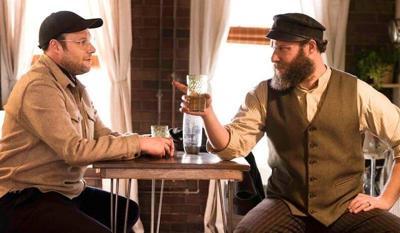 Rogen pulls double duty in 'American Pickle'