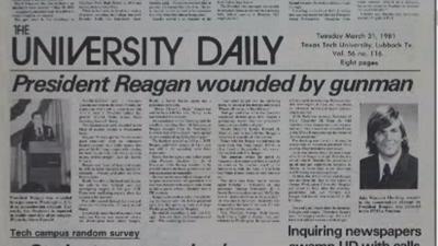 Reagan Assassination Anniversary