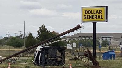 Wolfforth Utility Pole crash