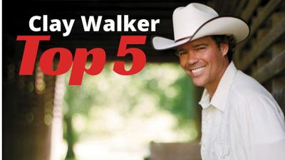 Clay Walker Top 5