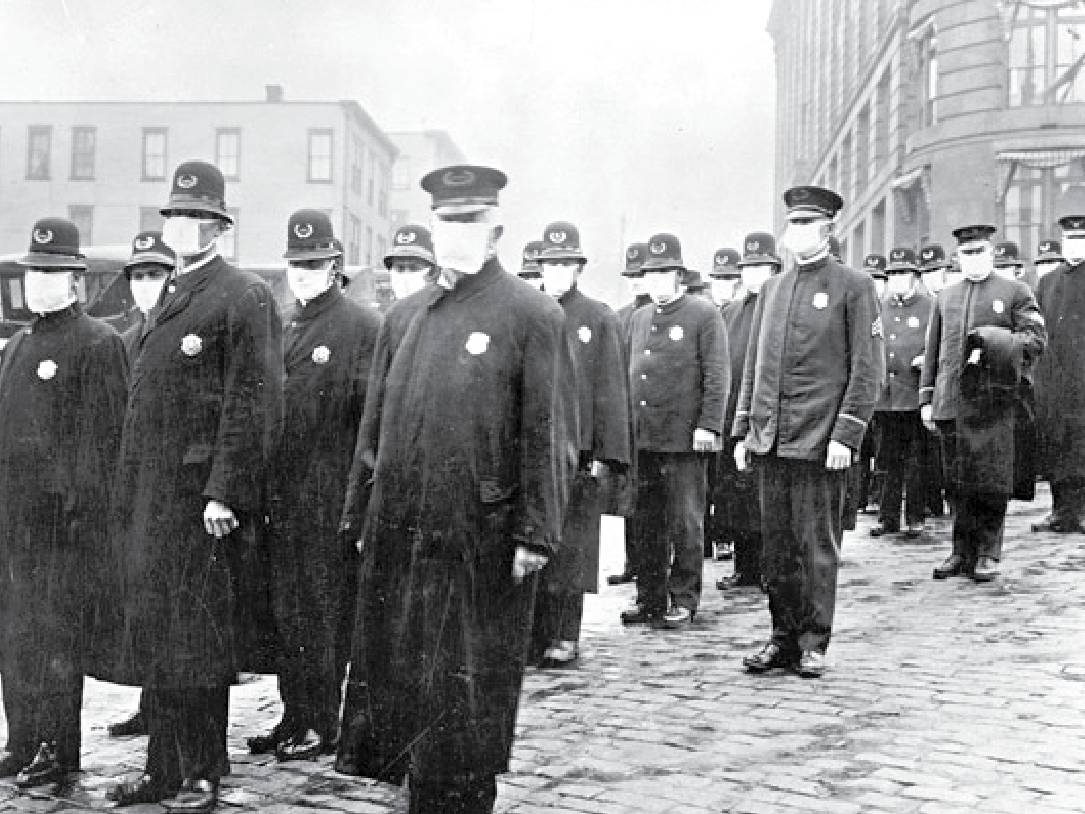 The Spanish flu of 1918 — looking back at another epidemic