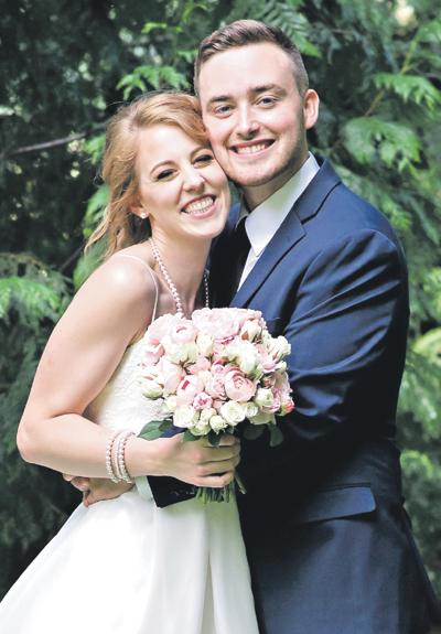 Katie VandenBos and Tyler Voight