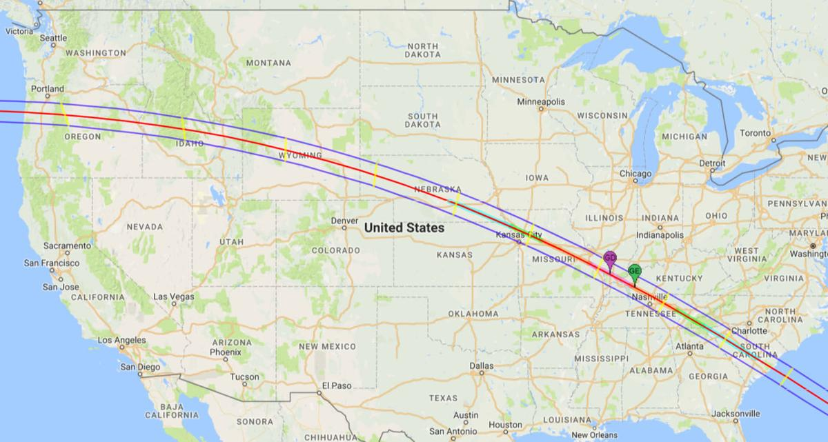 Aug Solar Eclipse To Be Partial Viewable Here - Georgia map solar eclipse