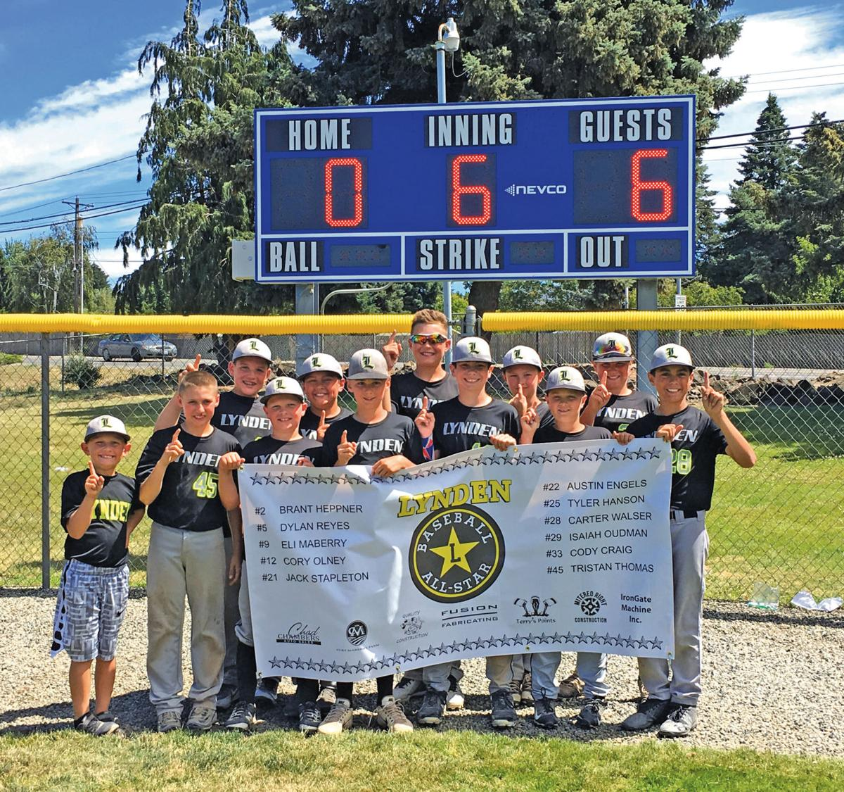 Three Lynden boys baseball teams on to regionals | Sports
