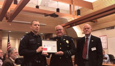 City recognized for supporting employees part of military reserve duty