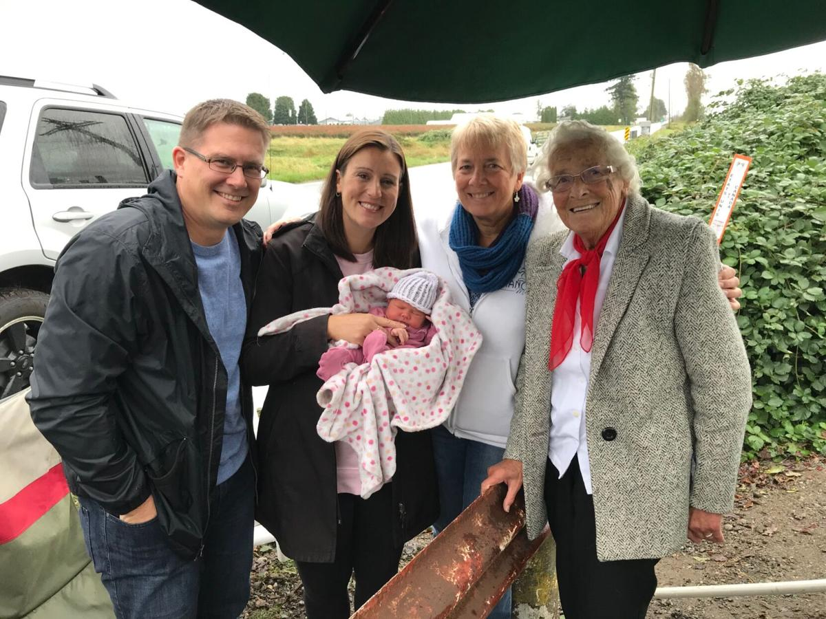 Four generations at the border