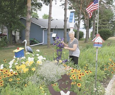 Halpin garden honors family; Lake home is on Garden Walk