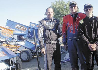 Three generations of Bicketts hit speedway