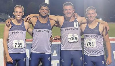 DSU men's 1600-meter relay places sixth in NAIA Championships