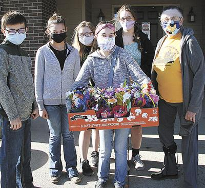 May baskets delivered to seniors, hospital patients