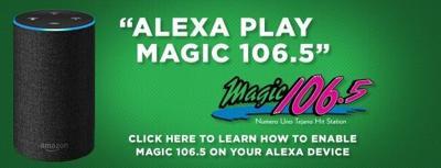 Listen to Magic 106.5 on Alexa