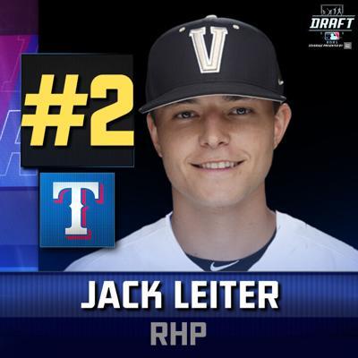 Jack Leiter Texas Rangers