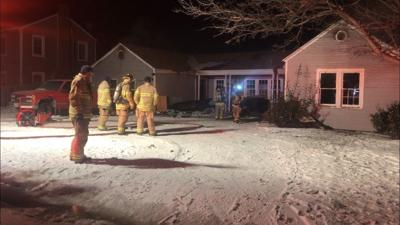 Central Lubbock house fire