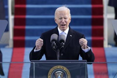 Joe Biden inauguration speech