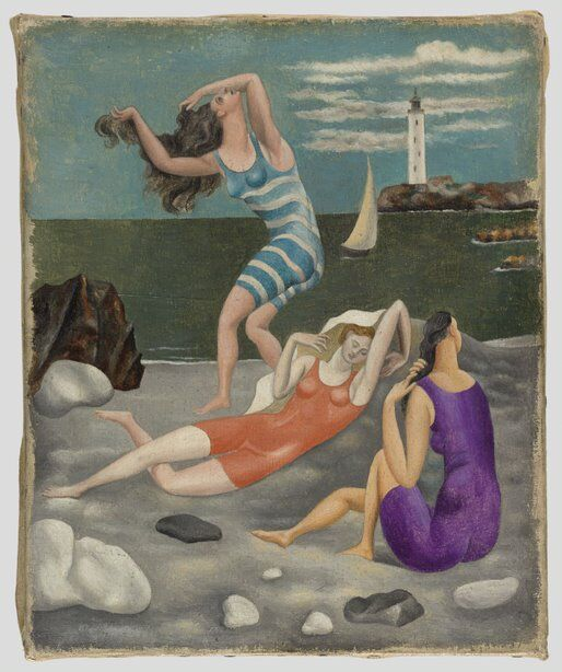 """""""Picasso. Figures"""" at Frist - """"The Bathers"""""""