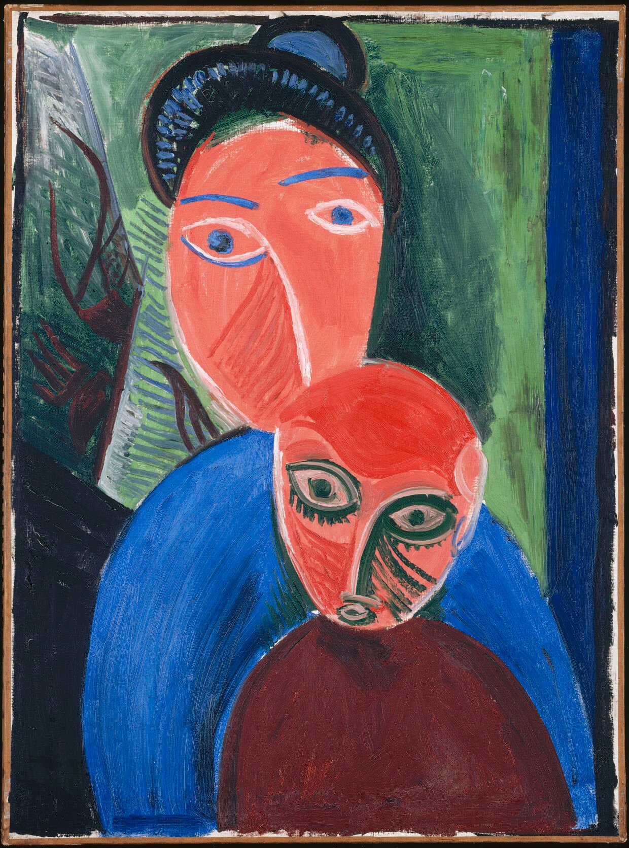 """""""Picasso. Figures"""" at Frist - """"Mother and Child"""""""