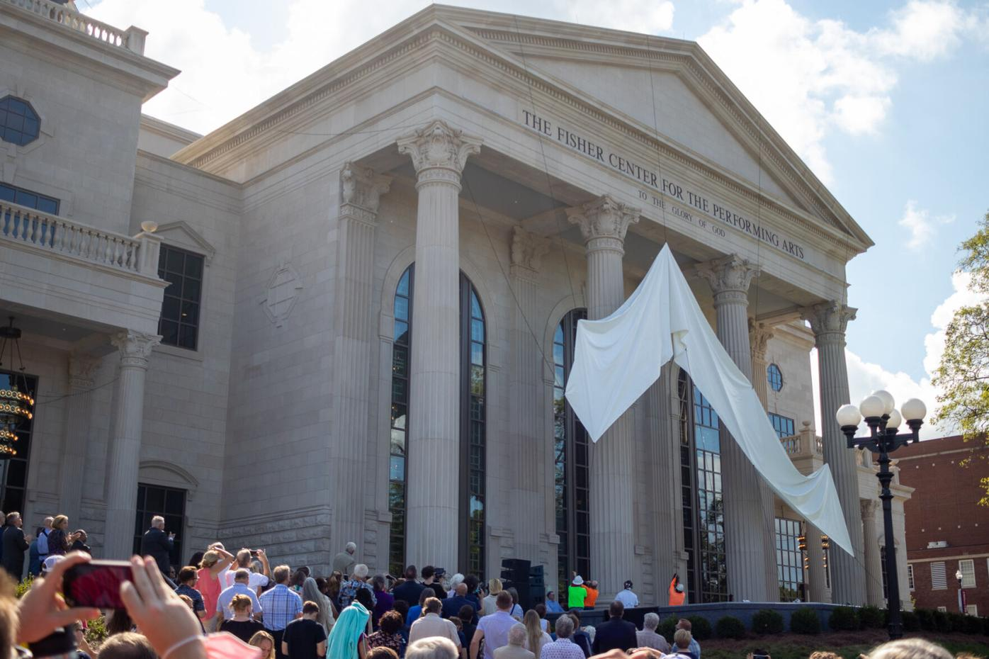 Fisher Center for the Performing Arts name unveiled